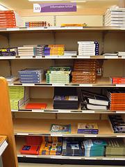 Textbooks on the Shelves