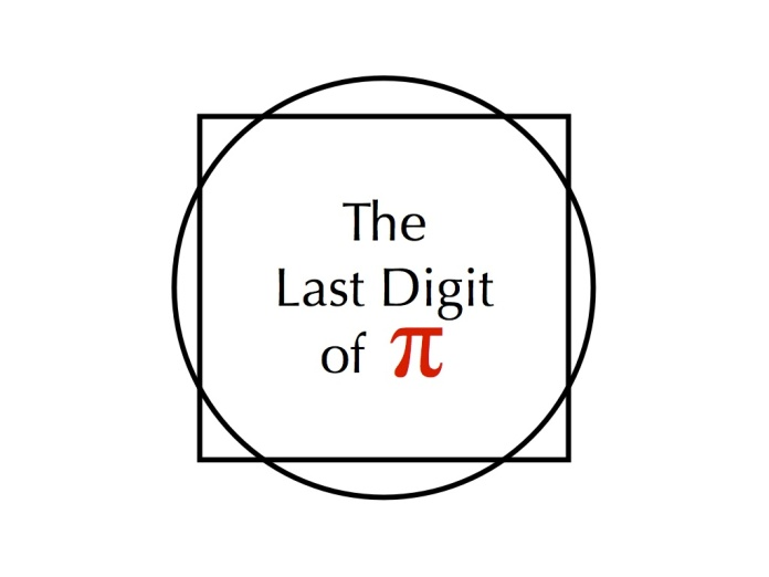 The Last Digit Of Pi Dan Cohen